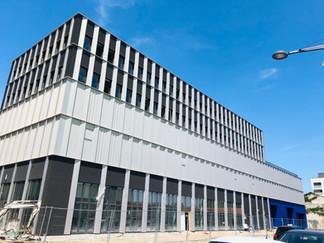Le nouveau METRO de Lyon Gerland