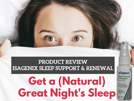How to Get a (Natural) Great Night's Sleep
