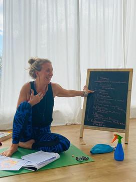 Teaching.The Path of Yoga