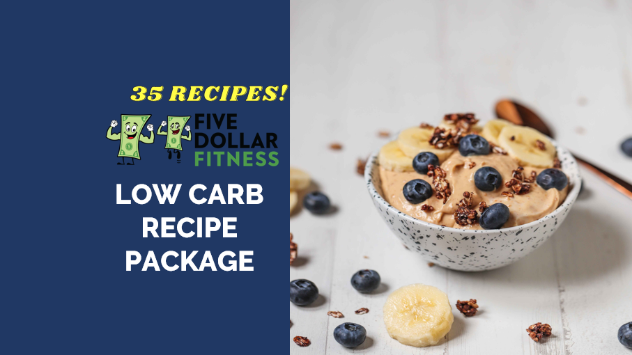 35 Low-Carbohydrate Receipes and Meal Prep Guide