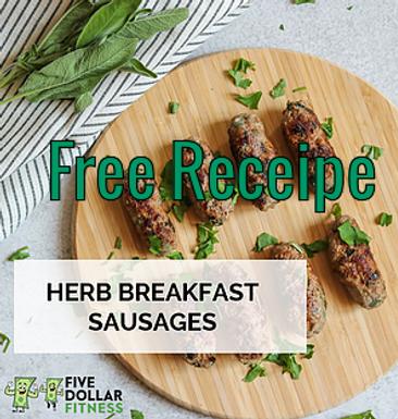 Herb Breakfast Sausages