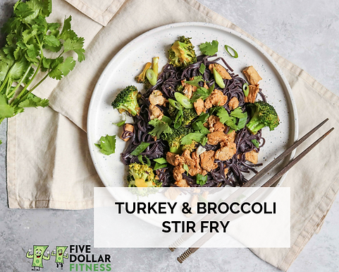 Turkey & Broccoli Stir Fry