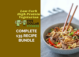 Complete Bundle. 135 Recipes! Get All 3 Packages!