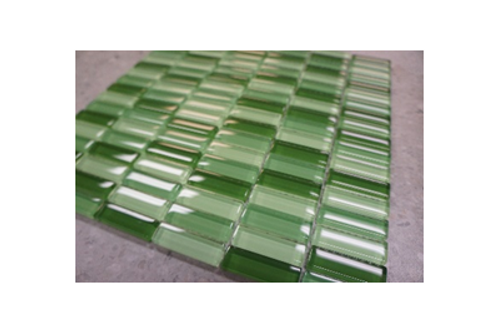 Spring Green Glass Mosaic