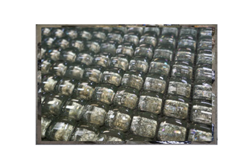 Clouded Pearl Glass Mosaic