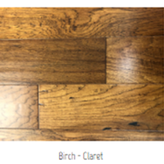 Birch - Claret Hardwood Floor