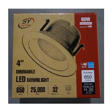 "4"" LED Downlight Kit"