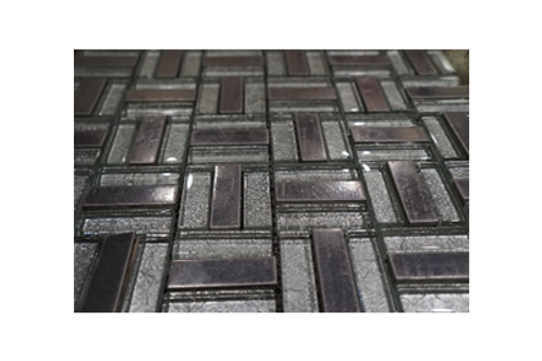 Iced Iron Glass Mosaic