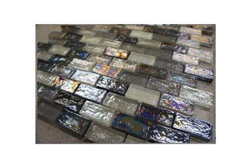 Moonlit Creek Glass Mosaic