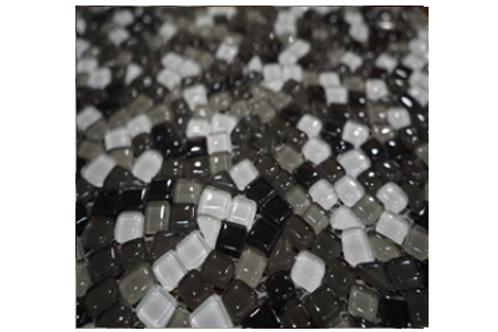 Pepper Pebbles Glass Mosaic