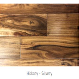 Hickory - Silvery Hardwood Floor