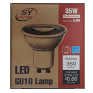 GU10 Type LED Lamp