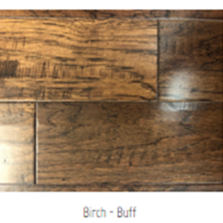 Birch - Buff Hardwood Floor
