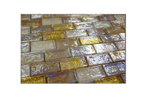 Noble Topaz Glass Mosaic