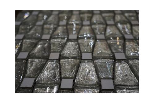 Natural Spring Glass Mosaic