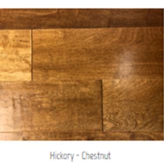 Hickory - Chestnut Hardwood Floor