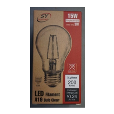 A19 Type LED Filament