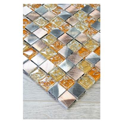San Luis Aluminum & Glass Mosaic
