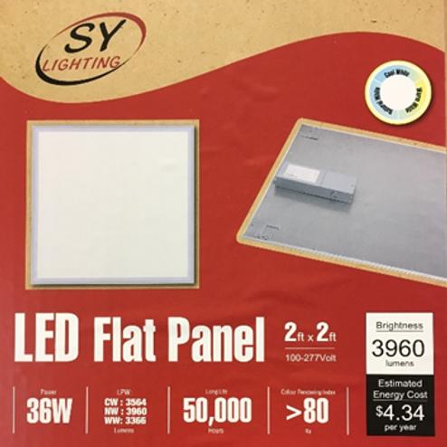 LED Flat Panel 2' x 2'