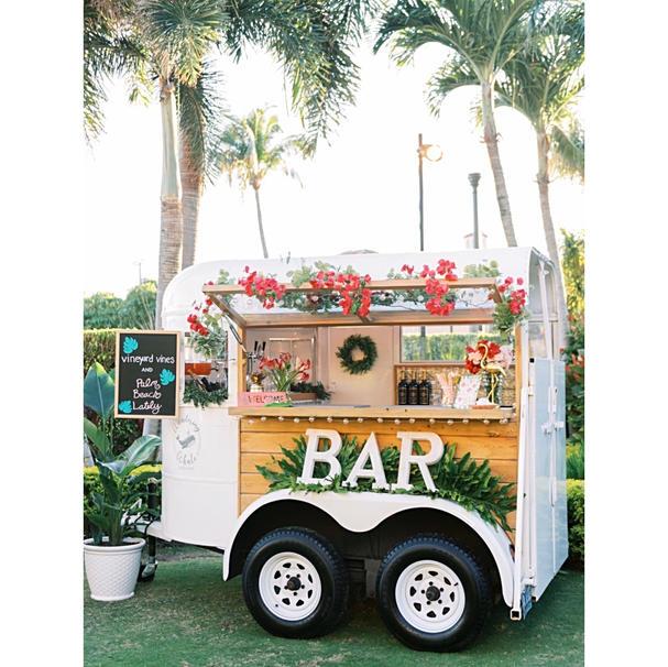 Trailer Mobile Bar