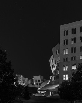 MIT at Night, Cambridge MA