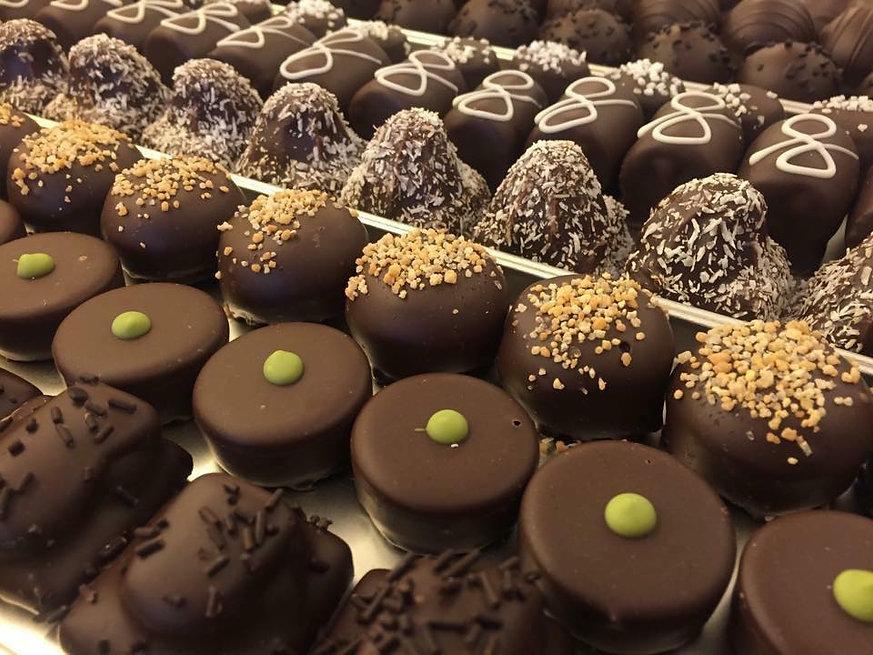Bonbons, Chocolade