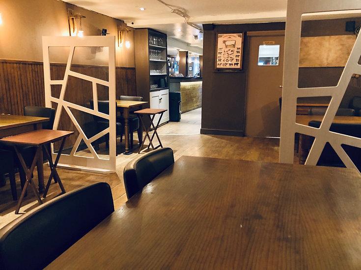 Restaurant & Cafe Partition Screens