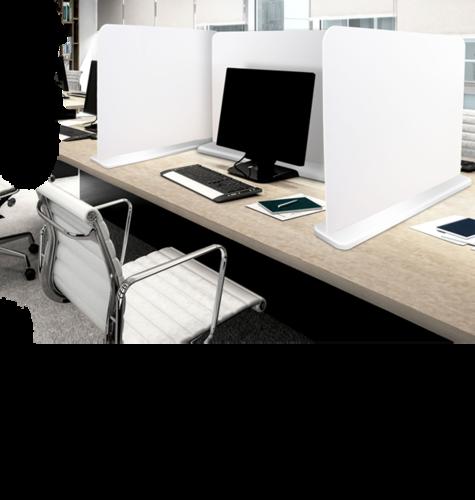 Freestanding Budget Desk Divider Screen