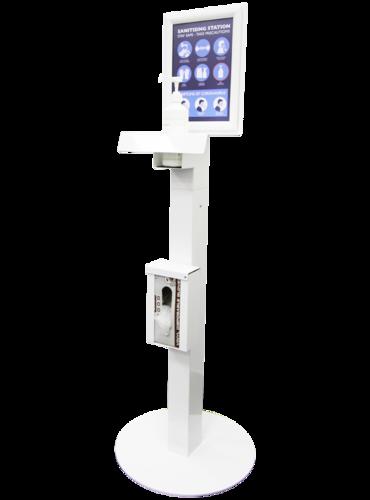 Shop or Business Freestanding Hand Sanitising Station