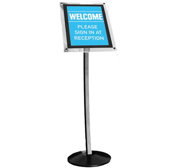 HI-Light Illuminated Menu Stand