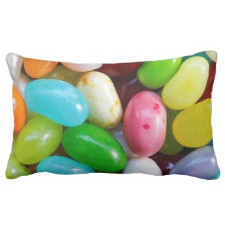 Jelly Bean Lumbar Pillow