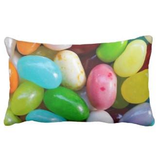 Jelly Bean Lumbar Pillow