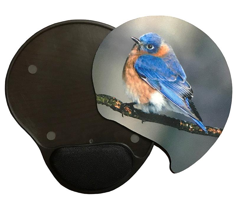 Eastern Bluebird Gel Mousepad