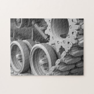 Tank Gears and Track Puzzle