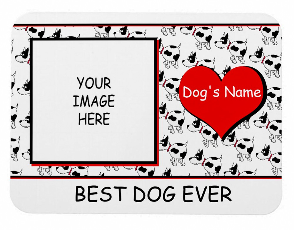 Best Dog Ever Customizeable Magnet