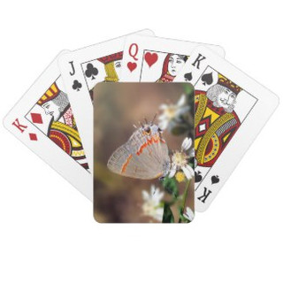 Dusky Blue Hairstreak Butterfly Playing Cards
