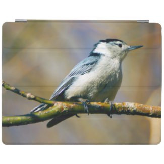 White Breasted Nuthatch iPad Smart Cover