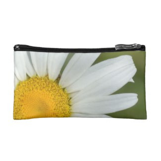 Offset Daisy Cosmetic Bag