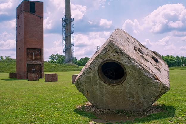 The Ruins at Ariel-Foundation Park in Mount Vernon Ohio