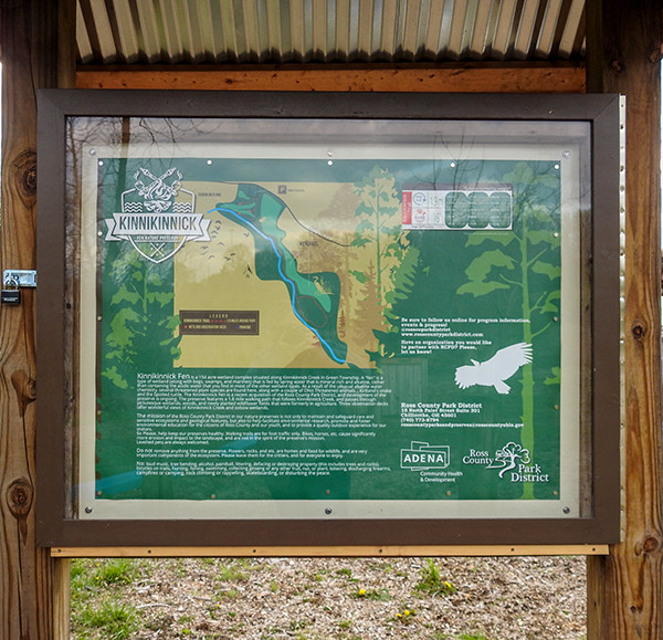 Kinnikinnick Fen Nature Preserve Trail Map