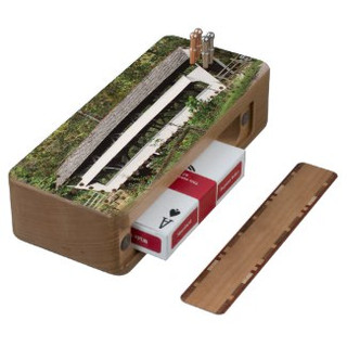 Covered Bridge Cribbage Board