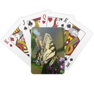 Tiger Swallowtail Playing Cards