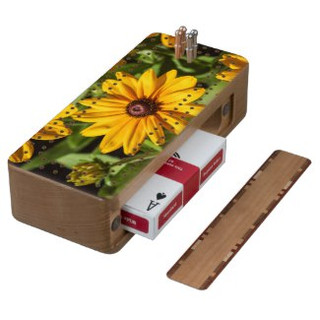 Black Eyed Susan Cribbage Board