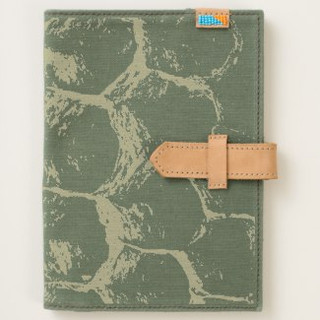 Bee Hive Pattern Canvas Journal