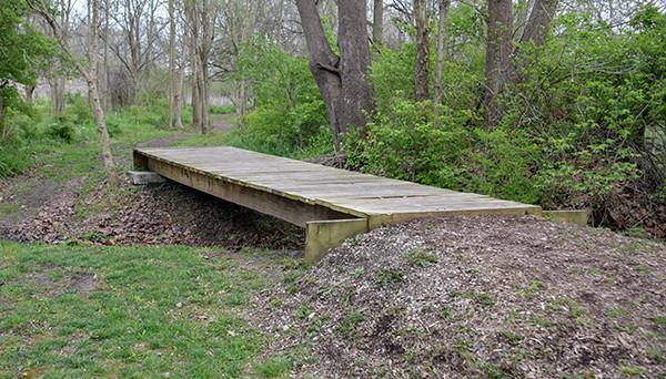 Kinnikinnick Fen Nature Preserve Foot Bridge