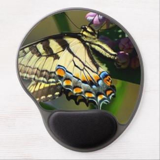 Tiger Swallowtail Butterfly Gel Mousepad