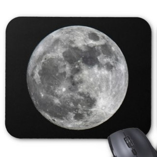 Supermoon Moon Mousepad