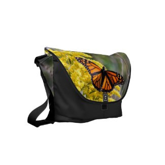 Monarch Butterfly Messenger Bag