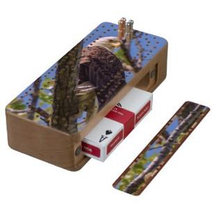 Bald Eagle Cribbage Board