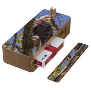 Bald Eagle Cribbage Board
